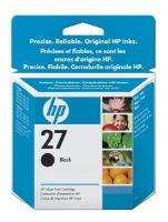 HP 27, C8727A, černá, inkoustová náplň, originál