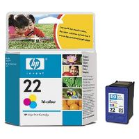HP 22, C9352AE, barevná, inkoustová náplň, originál