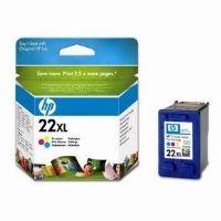 HP 22XL, C9352CE, barevná, inkoustová náplň, originál