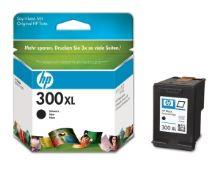 HP 300XL, CC641EE, černá, inkoustová náplň, originál