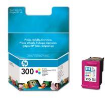 HP 300, CC643EE, barevná, inkoustová náplň, originál