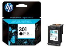 HP 301, CH561EE, černá, inkoustová náplň, originál