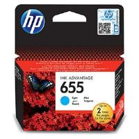 HP 655 azurová inkoustová kazeta, CZ110AE