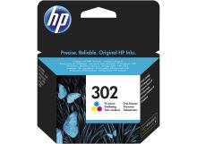 HP 302 3barevná kazeta, F6U65AE