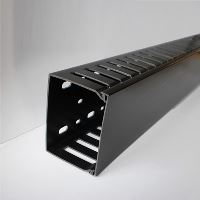 CABLE MANAGER 2U 60x80 (2M) BLACK