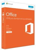 Office 2016 pro dom. a podnikatele CZ