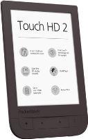Pocketbook 631+ Touch HD 2,tmavě hnědá